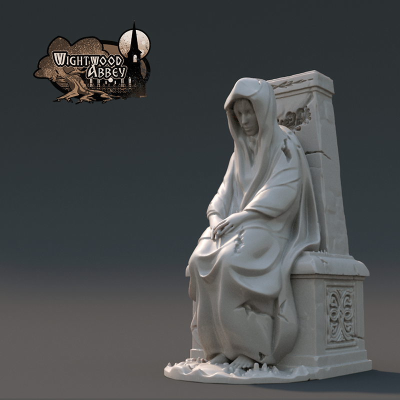 3D printable statue
