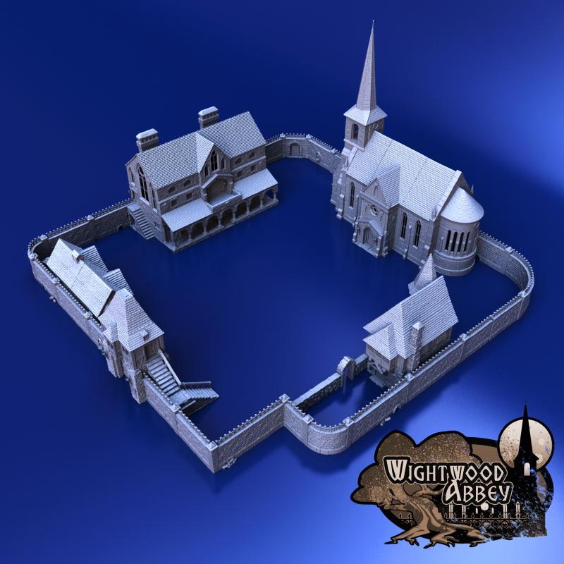 3D printable medieval terrain