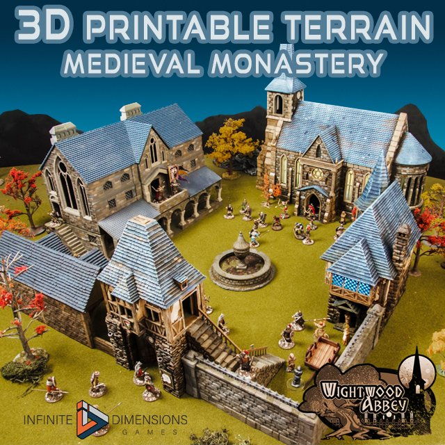 Dynamic image for free 3d printable terrain