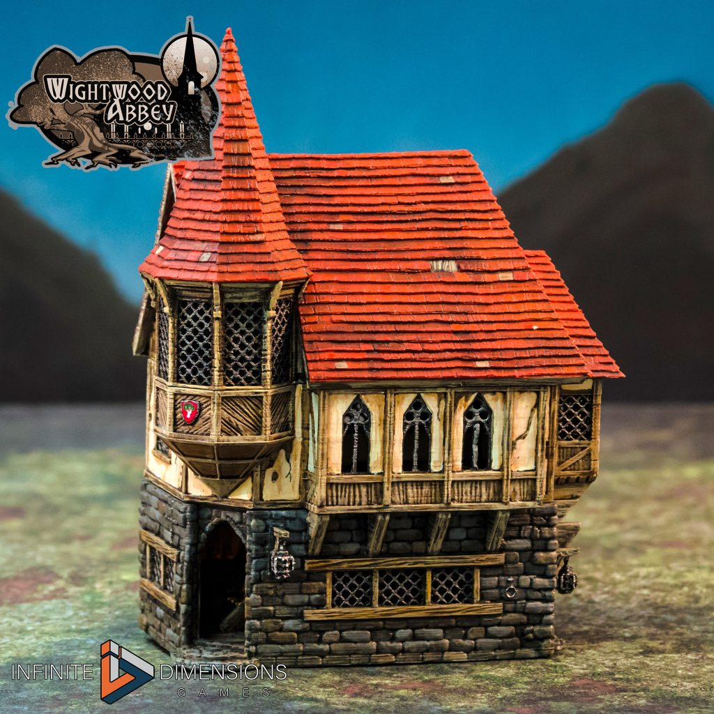 3D Printable Medieval Abbot's House