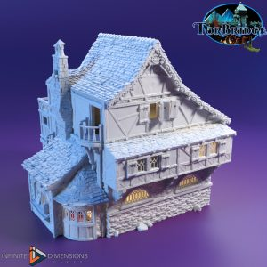 3d printable medieval guest house